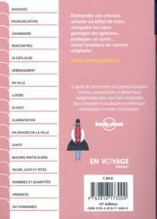 GUIDE DE CONVERSATION ; espagnol ; latino-américain (10e édition) - 4ème de couverture - Format classique