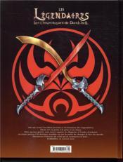 Les Légendaires - les Chroniques de Darkhell T.1 ; ténébris - 4ème de couverture - Format classique