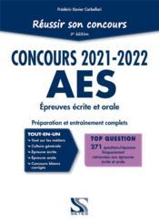Réussir son concours AES ; tout-en-un (édition 2021/2022) - Couverture - Format classique