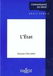 L'etat 1ere edition - Couverture - Format classique