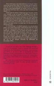Clinique des névroses ; l'hystérie - 4ème de couverture - Format classique