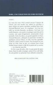 Belle-mere - 4ème de couverture - Format classique