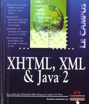 Développement Web Avec Xhtml, Xml, Javascript, Dhtml Et Java 2 - Intérieur - Format classique