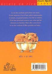 Le roi des cochons - 4ème de couverture - Format classique