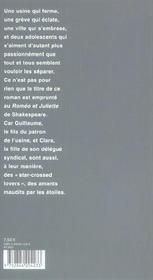 Star-Crossed Lovers - 4ème de couverture - Format classique