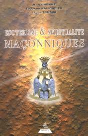 Esoterisme et spiritualite maconniques - Couverture - Format classique