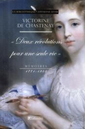 Victorine de Chastenay ; mémoires 1771-1855 - Couverture - Format classique