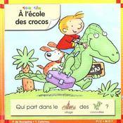 A l'ecole des crocos - Intérieur - Format classique