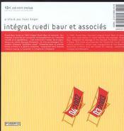 Ruedi Baur - 4ème de couverture - Format classique