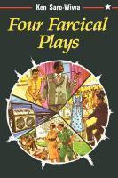 Four Farcical Plays - Couverture - Format classique