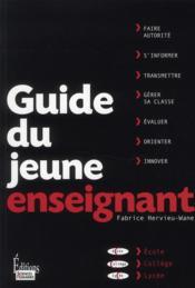 Guide du jeune enseignant - Couverture - Format classique