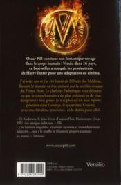 Oscar Pill t.4 ; l'allié des ténèbres - 4ème de couverture - Format classique