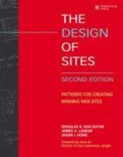 The Design of Sites - Couverture - Format classique