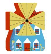 Tourne, tourne, petit moulin - Couverture - Format classique