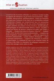 Entreprise et enjeux de la mondialisation - 4ème de couverture - Format classique