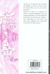 Demon King T.2 - 4ème de couverture - Format classique