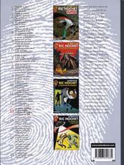INTEGRALE RIC HOCHET T.13 ; Ric Hochet ; INTEGRALE VOL.13 - 4ème de couverture - Format classique