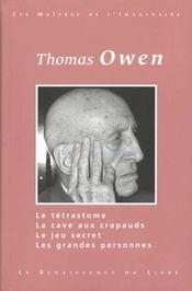 Thomas Owen T.1 - Intérieur - Format classique