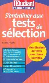 S'Entrainer Aux Tests De Selection - Intérieur - Format classique