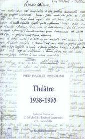 Théâtre, 1938-1965 - Intérieur - Format classique