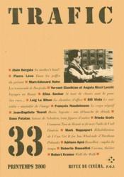 Revue Trafic N.33 - Couverture - Format classique
