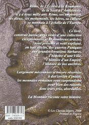 Les Monnaies Romaines - 4ème de couverture - Format classique