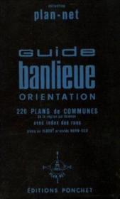 Guide banlieue orientations - Couverture - Format classique