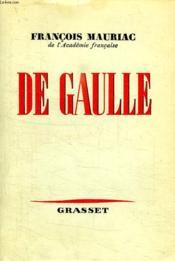 De Gaulle. - Couverture - Format classique