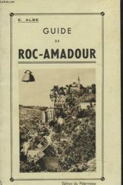 Guide De Roc-Amadour - Couverture - Format classique