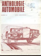 L'Anthologie De L'Automobile N°36 - Couverture - Format classique