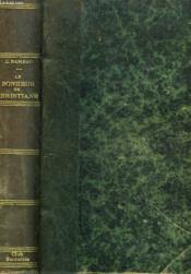 Le Bonheur De Christiane - Couverture - Format classique
