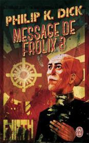 Message de Frolix 8 - Couverture - Format classique