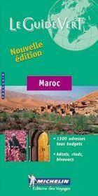 Le Guide Vert T.544 ; Maroc - Intérieur - Format classique
