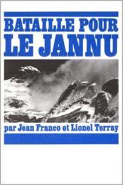 Bataille pour le jannu - Couverture - Format classique