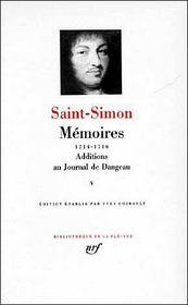 Mémoires, additions au journal de Dangeau t.5 - Intérieur - Format classique