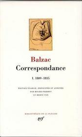 Correspondance t.1 ; 1809-1835 - Intérieur - Format classique