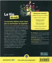 Le vin pour les nuls (12e édition) - 4ème de couverture - Format classique