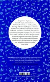 Au bonheur des lettres ; musique - 4ème de couverture - Format classique