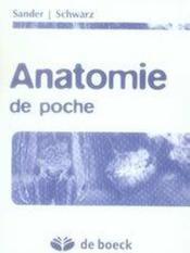 Anatomie de poche - Couverture - Format classique