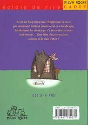 Le loup a les crocs - 4ème de couverture - Format classique