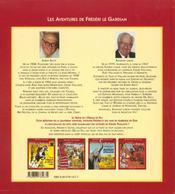 Frédéri le gardian t.4 ; signe de l'oiseau de feu - 4ème de couverture - Format classique