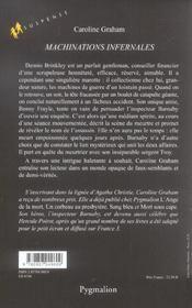 Machinations Infernales - 4ème de couverture - Format classique