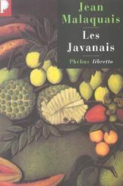 Les javanais - Intérieur - Format classique