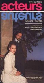 Acteurs no 69 mai 1989 - revue du theatre - Couverture - Format classique