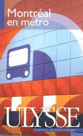 Montréal en métro - Intérieur - Format classique