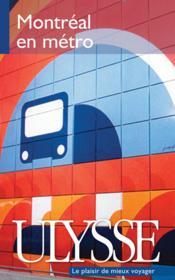 Montréal en métro - Couverture - Format classique