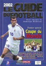 Guide du football ; saison 2001-2002 - Intérieur - Format classique