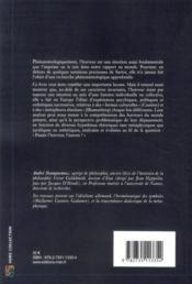 Horreurs du monde ; une phénoménologie des affections historiques - 4ème de couverture - Format classique