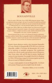 Louis-Antoine de Bougainville - 4ème de couverture - Format classique