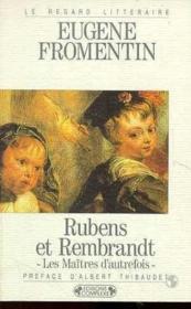 Rubens et rembrandt - Couverture - Format classique